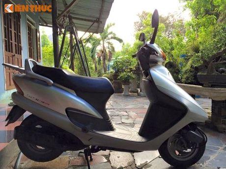 """""""Soi"""" Honda Spacy di 16 nam gia 200 trieu tai Ha Noi - Anh 14"""