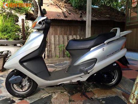 """""""Soi"""" Honda Spacy di 16 nam gia 200 trieu tai Ha Noi - Anh 1"""