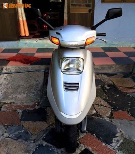 """""""Soi"""" Honda Spacy di 16 nam gia 200 trieu tai Ha Noi - Anh 2"""