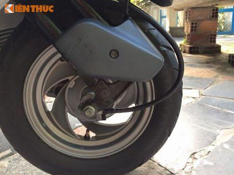 """""""Soi"""" Honda Spacy di 16 nam gia 200 trieu tai Ha Noi - Anh 4"""
