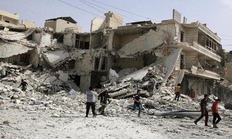 Quan doi Syria mo cuoc tan cong don dap tai Aleppo - Anh 1