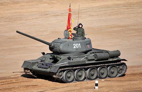 "Kinh ngac: ""Bo lao"" T-34-85 van tham chien o Syria - Anh 5"