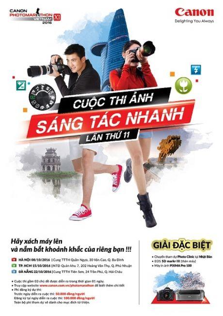 Canon Photomarathon 2016 lan dau to chuc o Da Nang - Anh 1