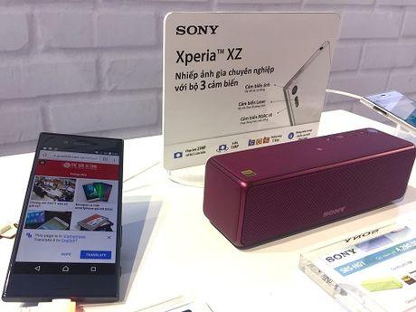 Sony Xperia XZ ra mat voi gia 14,99 trieu dong - Anh 1