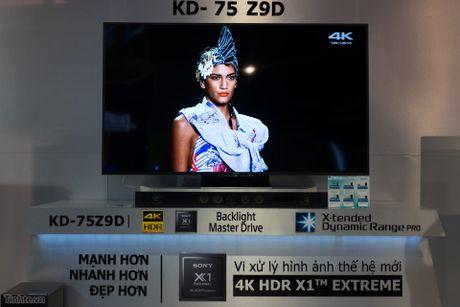 Tren tay TV Sony Bravia Z9D: Thiet ke ngau, dung den LED nen full-array, gia du kien duoi 200 trieu - Anh 12
