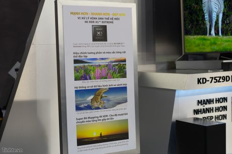 Tren tay TV Sony Bravia Z9D: Thiet ke ngau, dung den LED nen full-array, gia du kien duoi 200 trieu - Anh 13
