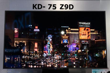 Tren tay TV Sony Bravia Z9D: Thiet ke ngau, dung den LED nen full-array, gia du kien duoi 200 trieu - Anh 14