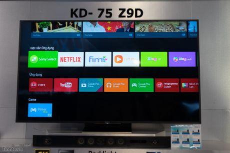 Tren tay TV Sony Bravia Z9D: Thiet ke ngau, dung den LED nen full-array, gia du kien duoi 200 trieu - Anh 15