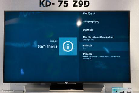 Tren tay TV Sony Bravia Z9D: Thiet ke ngau, dung den LED nen full-array, gia du kien duoi 200 trieu - Anh 16