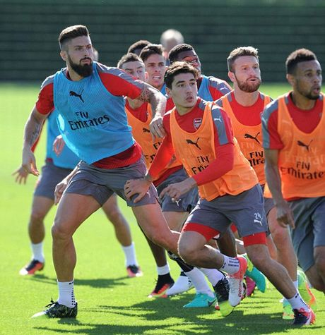 """Wenger: Cau thu Arsenal phai """"mau lanh"""" voi Costa - Anh 6"""