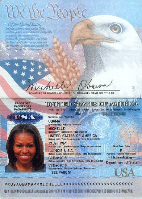 Tin tac tung ho chieu nghi cua de nhat phu nhan My Michelle Obama - Anh 1
