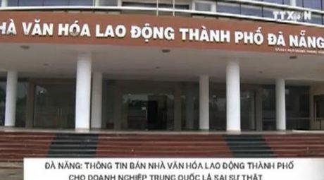 Thuc hu viec Da Nang ban nha van hoa cho DN Trung Quoc - Anh 1