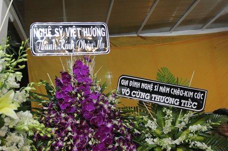 "Dong nghiep den vieng ""huyen thoai cai luong"" Thanh Tong trong dem muon - Anh 1"