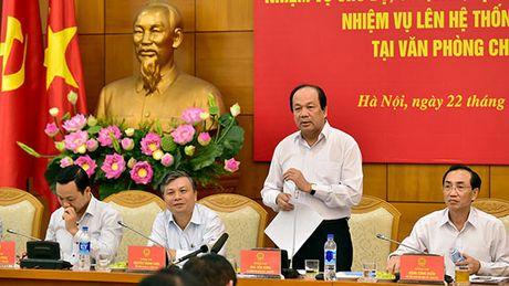 """Chu nhiem VPCP: Co hien tuong Bo nganh, dia phuong """"ne"""" viec, day viec len Thu tuong - Anh 1"""