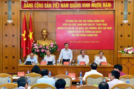 """Chu nhiem VPCP: Co hien tuong Bo nganh, dia phuong """"ne"""" viec, day viec len Thu tuong - Anh 2"""