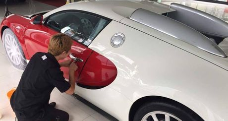 """Bugatti Veyron doc nhat Viet Nam duoc """"tut tat"""" lai truoc khi len ke - Anh 6"""