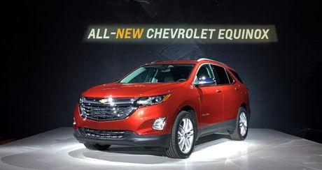 Chevrolet Equinox 2018 – doi thu Honda CR-V, Toyota RAV4 - Anh 1