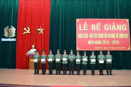 Khoa hoc co 113 hoc vien an ninh duoc phong quan ham truoc nien han - Anh 3