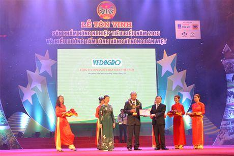 San pham cua Vedan dat giai thuong nong nghiep tieu bieu - Anh 1