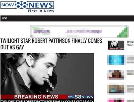 Robert Pattinson bat ngo thua nhan minh dong tinh - Anh 1