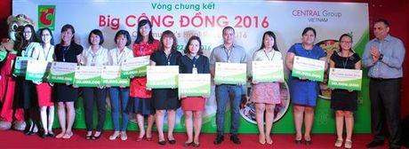 Big C danh 500 trieu dong cho cac du an cong dong - Anh 1