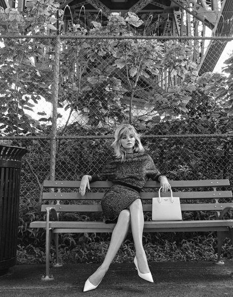 Nhan sac goi tinh cua nang 'tieu Marilyn Monroe' Haley Bennett - Anh 1