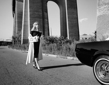 Nhan sac goi tinh cua nang 'tieu Marilyn Monroe' Haley Bennett - Anh 4