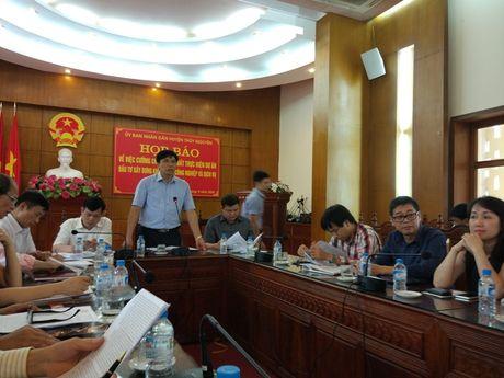 Hai Phong: Cuong che thu hoi dat khu cong nghiep VSIP - Anh 1