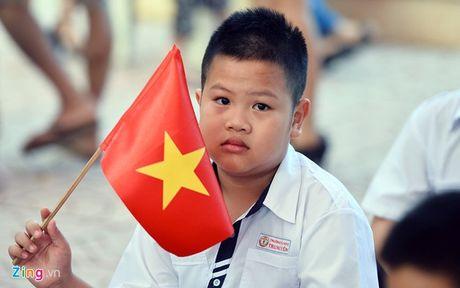 Thi diem day tieng Trung, Nga tu lop 3: 'Con em toi khong phai la chuot bach!' - Anh 3