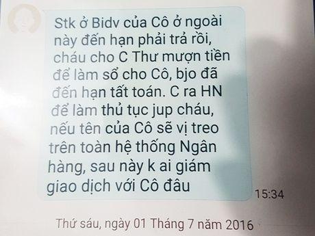 Dang dieu tra vu khach hang 'to' mat 32 ty dong trong so tiet kiem tai BIDV - Anh 1
