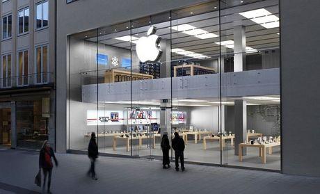 Apple muon mo cua hang gan tru so Samsung - Anh 1