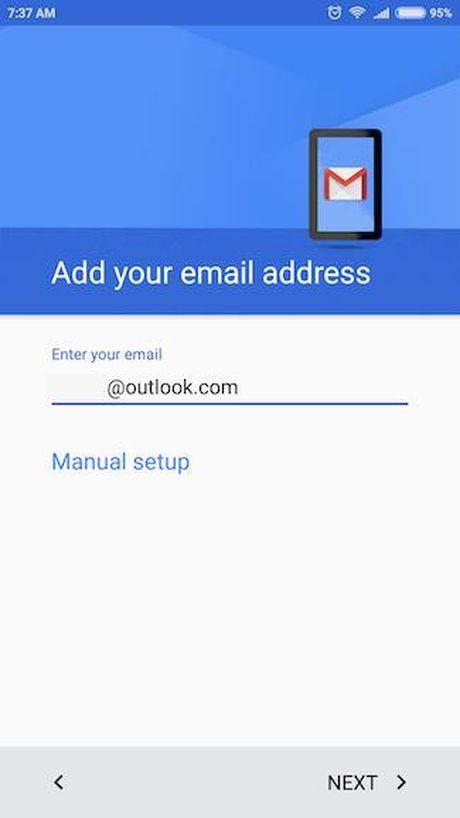 Huong dan them tai khoan email ben thu ba vao ung dung Gmail tren Android - Anh 4