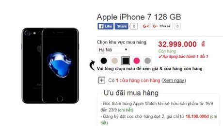 """Het thoi vang hong, iPhone den bong """"len ngoi"""" chenh gia vai chuc trieu dong - Anh 2"""