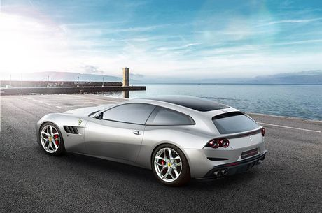 Trinh lang sieu xe Ferrari GTC4Lusso T voi dong co V8 Turbo - Anh 2