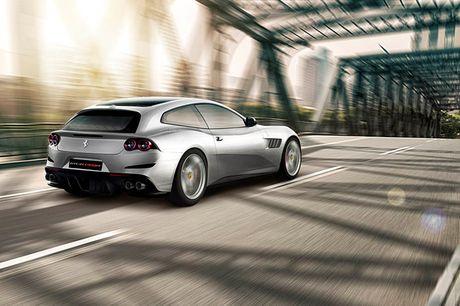 Trinh lang sieu xe Ferrari GTC4Lusso T voi dong co V8 Turbo - Anh 3