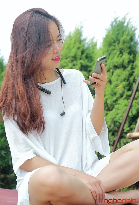 Bo anh tai nghe Bluetooth Partron Croise.R gia 1,2 trieu - Anh 13