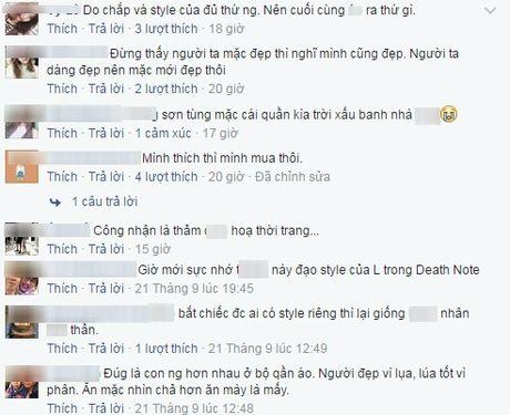 Het 'tha thu', Son Tung lai bi che anh vi trang phuc 'cai bang' - Anh 3