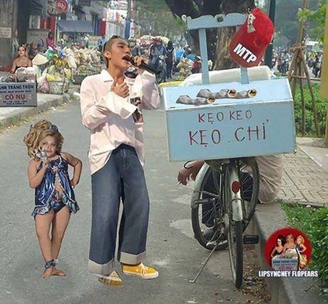 Het 'tha thu', Son Tung lai bi che anh vi trang phuc 'cai bang' - Anh 9