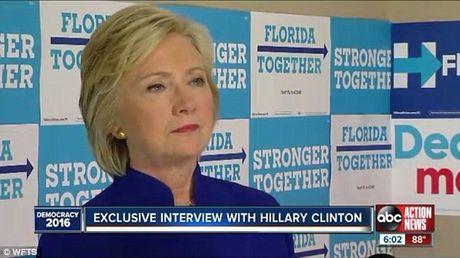Ba Hillary Clinton tu choi xet nghiem than kinh, khang dinh da khoe lai - Anh 1