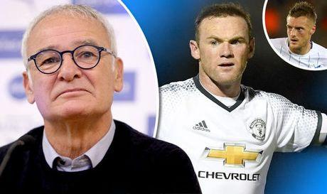 Claudio Ranieri: 'Toi khong bao gio doi cau thu cua minh lay Rooney' - Anh 1