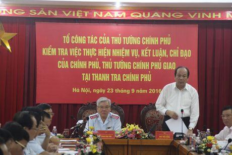 Co ban hoan thanh nhiem vu Chinh phu, Thu tuong Chinh phu giao - Anh 1