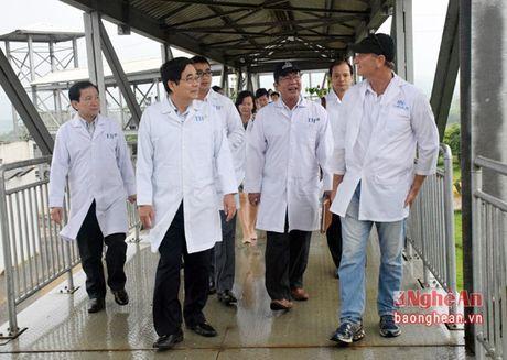 Pho truong Ban kinh te Trung uong khao sat tai Nghe An - Anh 1