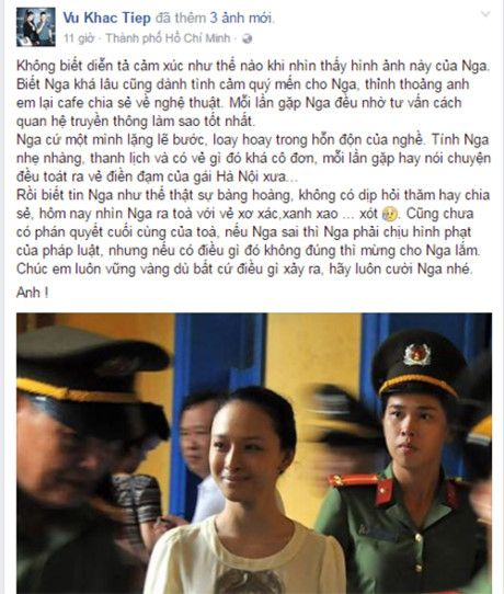 Hoa hau Phuong Nga duoc nhieu sao Viet benh vuc giua vong lao ly - Anh 2