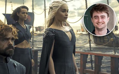 Daniel Radcliffe van muon tham gia 'Game of Thrones' du xuat hien chop nhoang - Anh 1