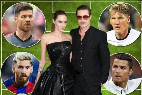 Brad Pitt va Angelina Jolie co the mua duoc doi hinh gom ca Messi lan Ronaldo - Anh 2