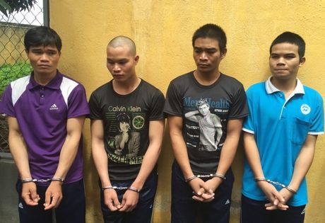 4 anh em ruot lap bang cuop giat khap Tay Nguyen - Anh 1