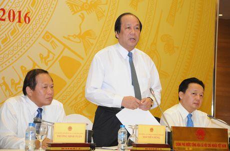 To cong tac cua Thu tuong lam viec voi Van phong Chinh phu - Anh 1