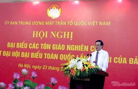 Cac ton giao luon dong hanh cung dan toc lam cho dat nuoc ngay cang phat trien - Anh 7