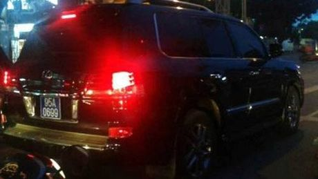Ky luat dai ta cap bien xanh xe Lexus cho Trinh Xuan Thanh - Anh 1