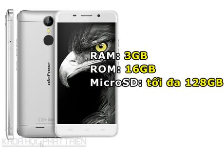 Can canh smartphone cam bien van tay, RAM 3 GB, gia hon 2 trieu - Anh 2